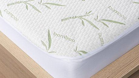 4Home Bamboo Chránič matrace s lemem, 140 x 200 cm