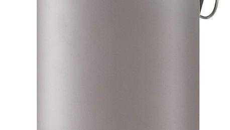 Koupelnový koš, odpadkový koš - 3 l, barva šedá, mat, ZELLER