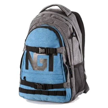 Batoh Nugget Connor blue-heather grey 26l
