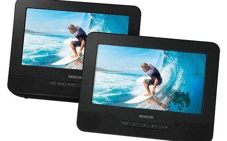 DVD přehrávač Sencor SPV 7771DUAL černý (35048601)