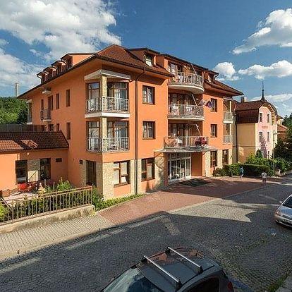 Luhačovice - Lázeňský hotel vila ANTOANETA, Česko