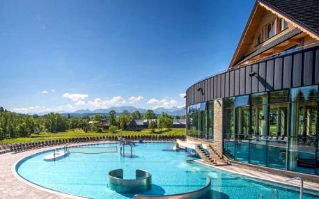 Slovensko: Orava v Penzionu Kamenec s polopenzí, aquaparkem, wellness a slevami