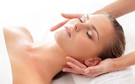 Antistresová indická masáž hlavy, šíje a obličeje