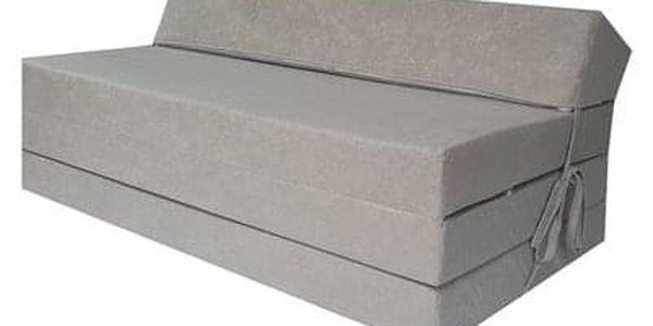 Kvalitní křeslo nebo matrace 12x200x10 cm více barevných variant Šedá
