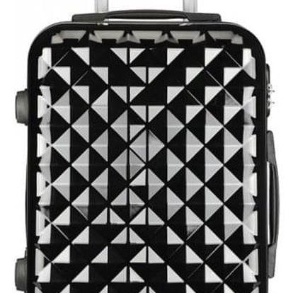 Cestovní kabinový černý kufr Adora 1992