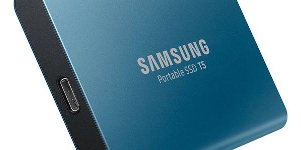 SSD externí Samsung T5 500GB (MU-PA500B/EU) modrý2