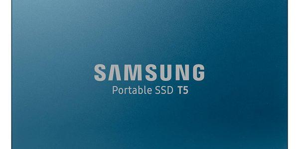 SSD externí Samsung T5 500GB (MU-PA500B/EU) modrý5