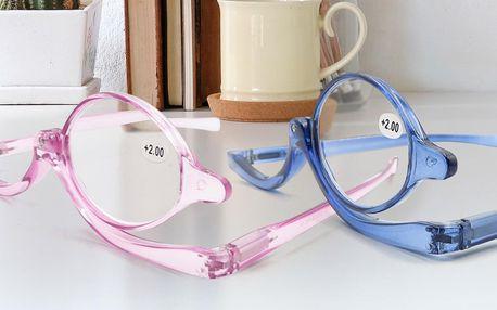 Kosmetické zvětšovací brýle na líčení