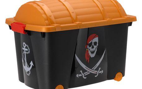 Emako Box na hračky pro malého piráta, jedinečný design