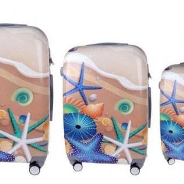 Sada 3 kufrů (Pláž)