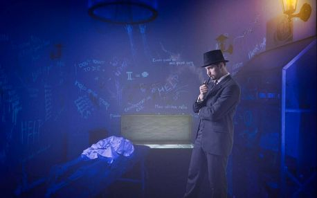 Úniková hra a muzeum iluzí ve Františkových Lázních pro dva