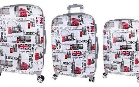 Sada 3 kufrů (London Street)
