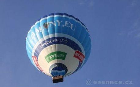 Romantický let balónem v Čechách i na Moravě - zlevněná letenka