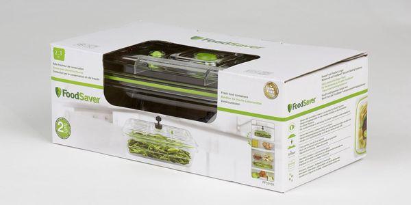Dóza na potraviny Bionaire FoodSaver Fresh FFC010X zelená/průhledná2