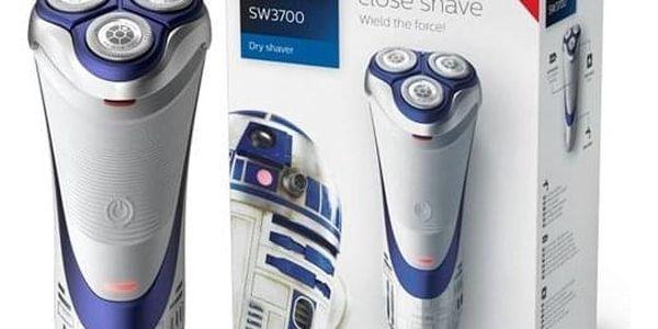 Holicí strojek Philips Star wars SW3700/07 bílý