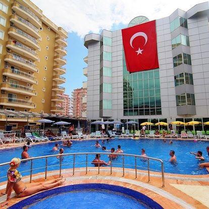 Turecko - Alanya na 8 dní, all inclusive s dopravou letecky z Prahy