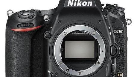 Digitální fotoaparát Nikon D750 tělo černý