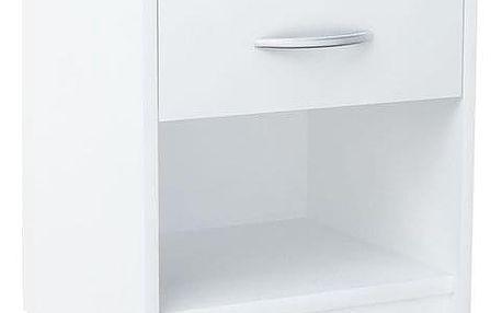 Noční stolek SN01 Bílá