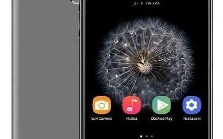 Mobilní telefon Umax VisionBook P55 LTE Pro (UMM200P56) šedý