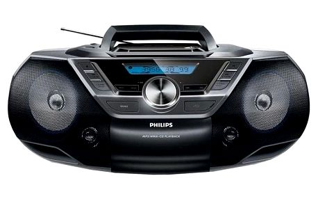 Radiopřijímač s CD Philips AZ780 černý (AZ780/12)