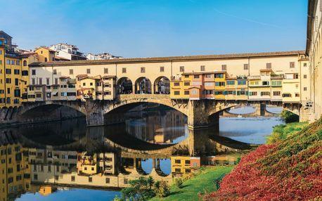 Itálie letecky na 8 dnů, strava dle programu
