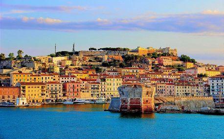 Itálie - Toskánsko autobusem na 6 dnů, polopenze