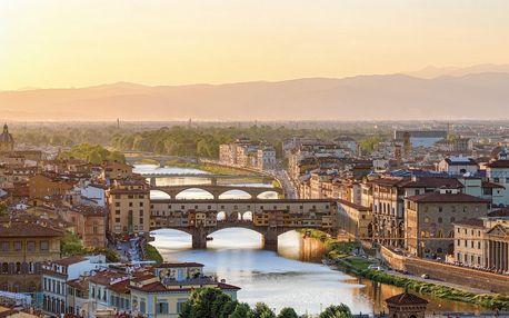 Itálie - Toskánsko letecky na 4 dny, snídaně v ceně
