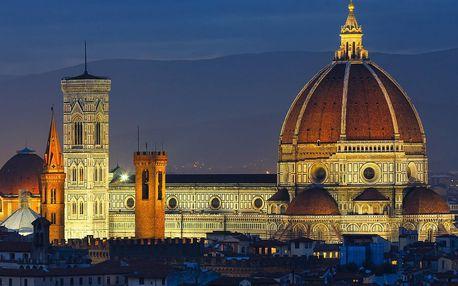Předvánoční Florencie a světelný betlém na 1 noc