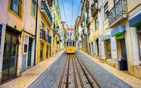 Portugalsko letecky na 8 dnů, snídaně v ceně