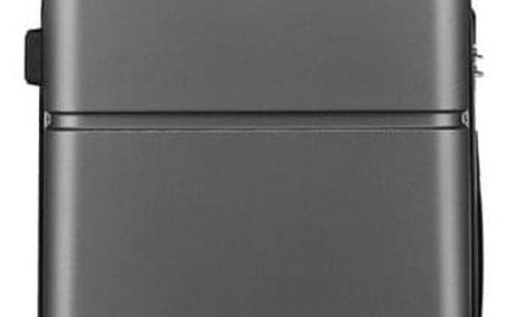 Cestovní kabinový šedý kufr Damla 1995