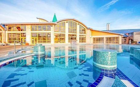 Maďarsko: Sárvár v Hotelu Aqua *** se vstupenkou do termálních lázní, zapůjčením kol a snídaní