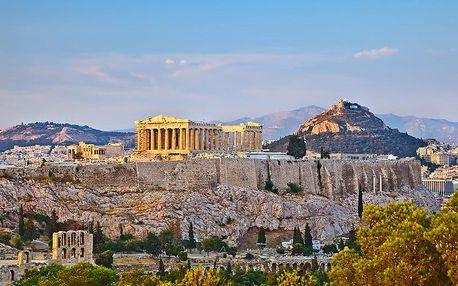 Řecko - Athény letecky na 4 dny, snídaně v ceně