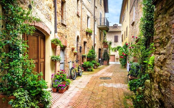 Za krásami toskánského venkova, Toskánsko, autobusem, polopenze2