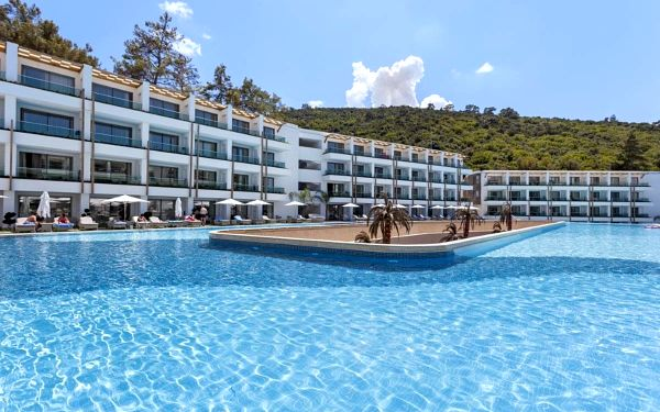 Hotel Thor Exclusive Bodrum, Bodrum, letecky, all inclusive2