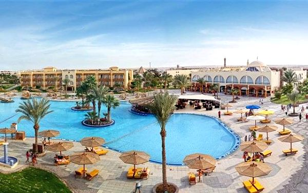 Hotel Desert Rose Resort, Hurghada (oblast), letecky, all inclusive3
