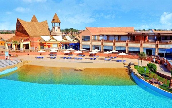 Hotel Jungle Aqua Park, Hurghada (oblast), letecky, all inclusive3