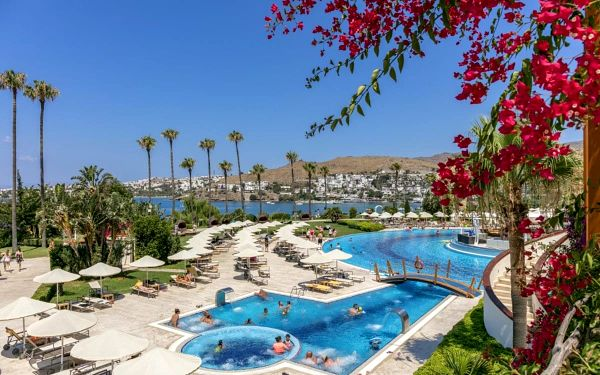 Hotel Kefaluka Resort, Bodrum, letecky, all inclusive5