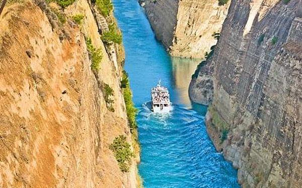 Velký okruh Řeckem, letecky, polopenze2