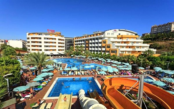 Hotel My Home Resort, Alanya, letecky, all inclusive3