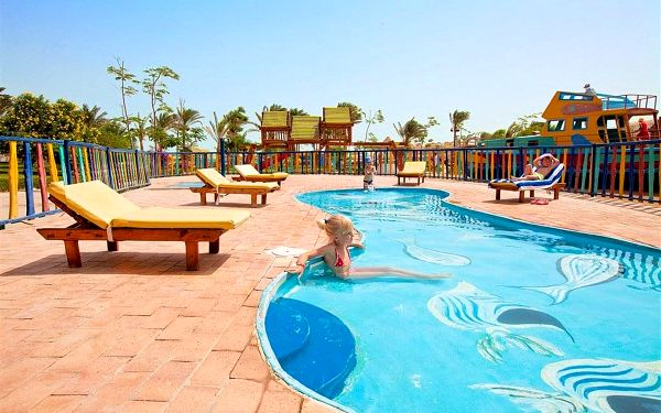 Hotel Desert Rose Resort, Hurghada (oblast), letecky, all inclusive4