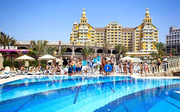 Hotel Royal Holiday Palace, Lara, letecky, all inclusive2