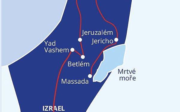Ve stínu olivovníku - to je Izrael, Taba, letecky, polopenze4