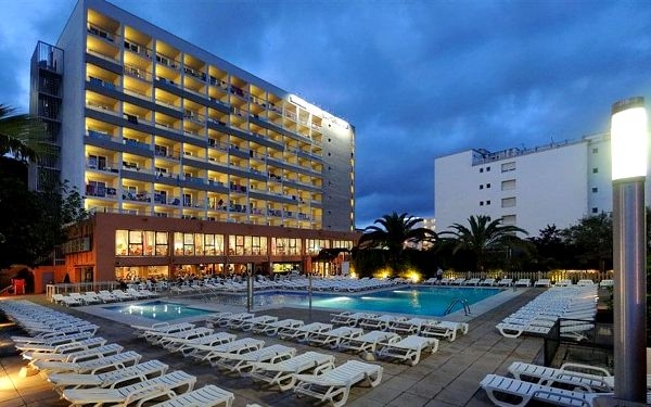 Hotel Santa Monica, Costa Brava, letecky, all inclusive5
