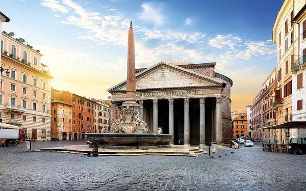Prodloužený víkend v Římě exclusive, Řím, letecky, snídaně v ceně2