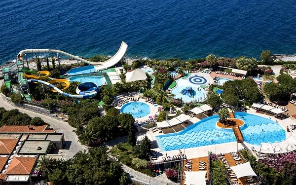 Hotel Pine Bay Holiday Resort, Kusadasi, letecky, all inclusive