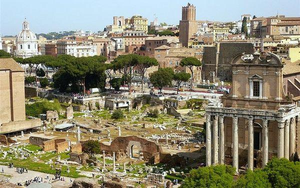 Prodloužený víkend v Římě exclusive, Řím, letecky, snídaně v ceně3