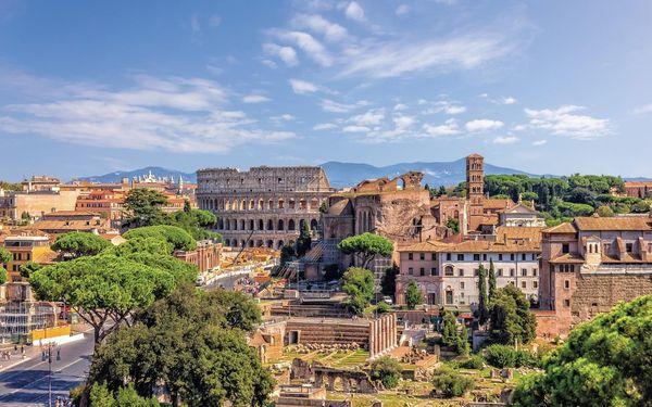 Víkend v Římě 5 dní, Řím, autobusem, snídaně v ceně2