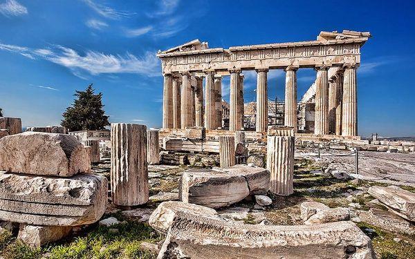 Velký okruh Řeckem, letecky, polopenze3