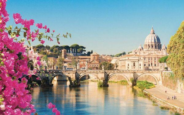Víkend v Římě 5 dní, Řím, autobusem, snídaně v ceně3