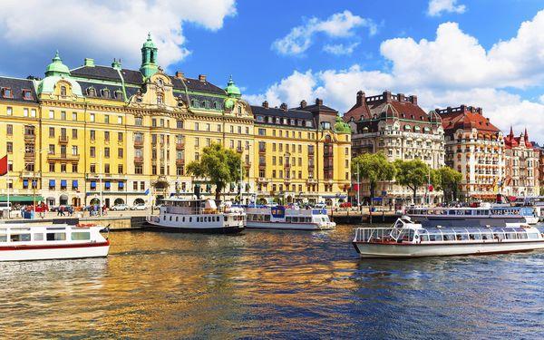 Starobylé metropole Skandinávie, letecky, snídaně v ceně3